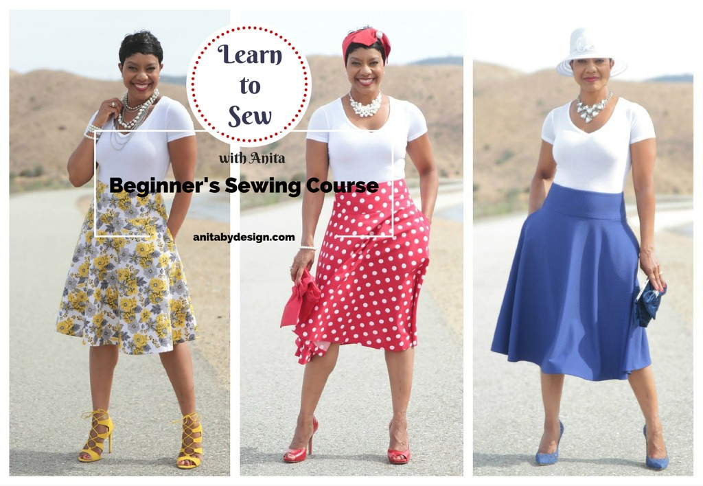 LEARN TO SEW – Anita by Design