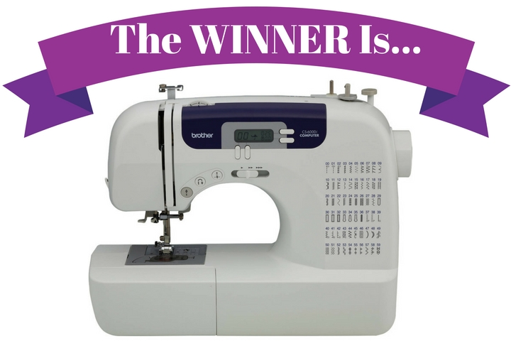 Sewing Machine Giveaway - anitabydesign.com