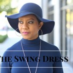 The Swing Dress - New Look 6469 - In Honor of CeCe