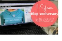1-Year Blog Anniversary - GIVEAWAY - Enter to Win!!!