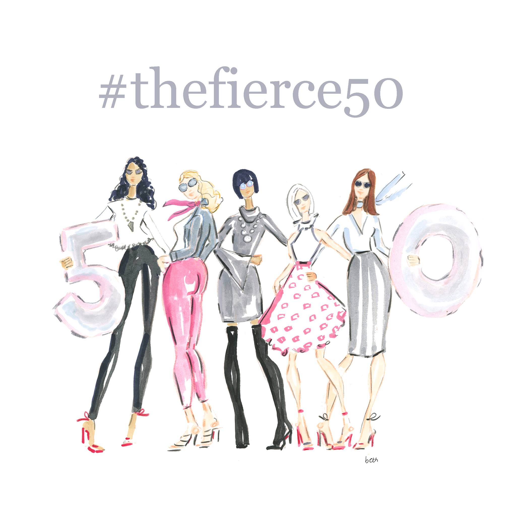 The Fierce 50 Campaign - Ana Bogusky & Anita Morris