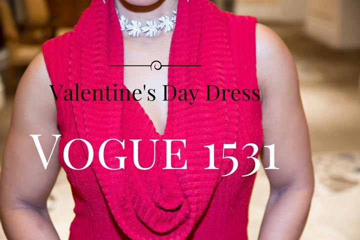 Valentine's Day 2017 - What I Wore - Vogue 1531