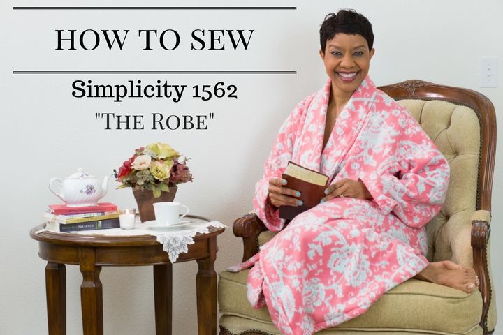 DIY Robe - Video Tutorial - Simplicity 1562