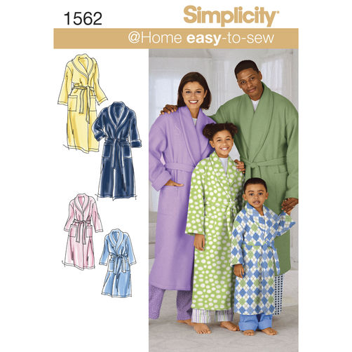 DIY Robe Video Tutorial - Simplicity 1562
