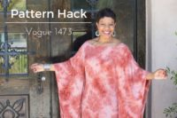 Vogue 1473 - Caftan Dress - Pattern Hack