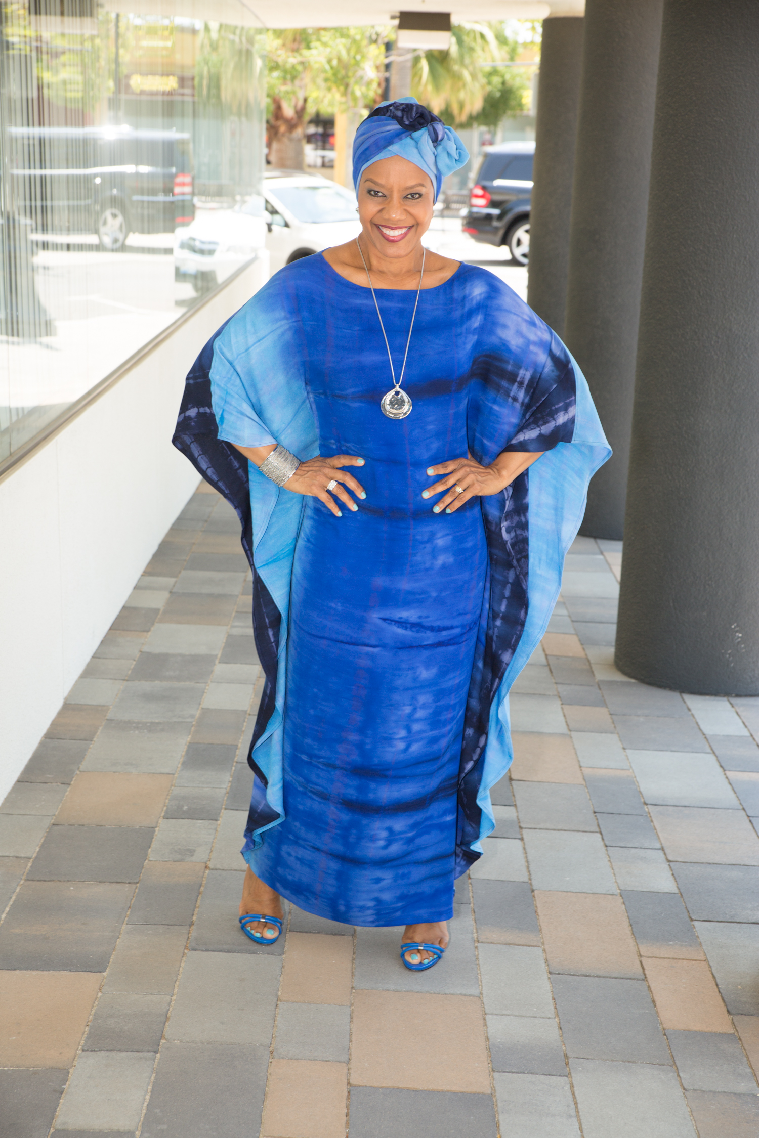 How to Sew a Caftan - Vogue 1473 Pattern Hack