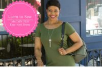 DIY Video Tutorial - Easy Knit Dress - McCall's 7531