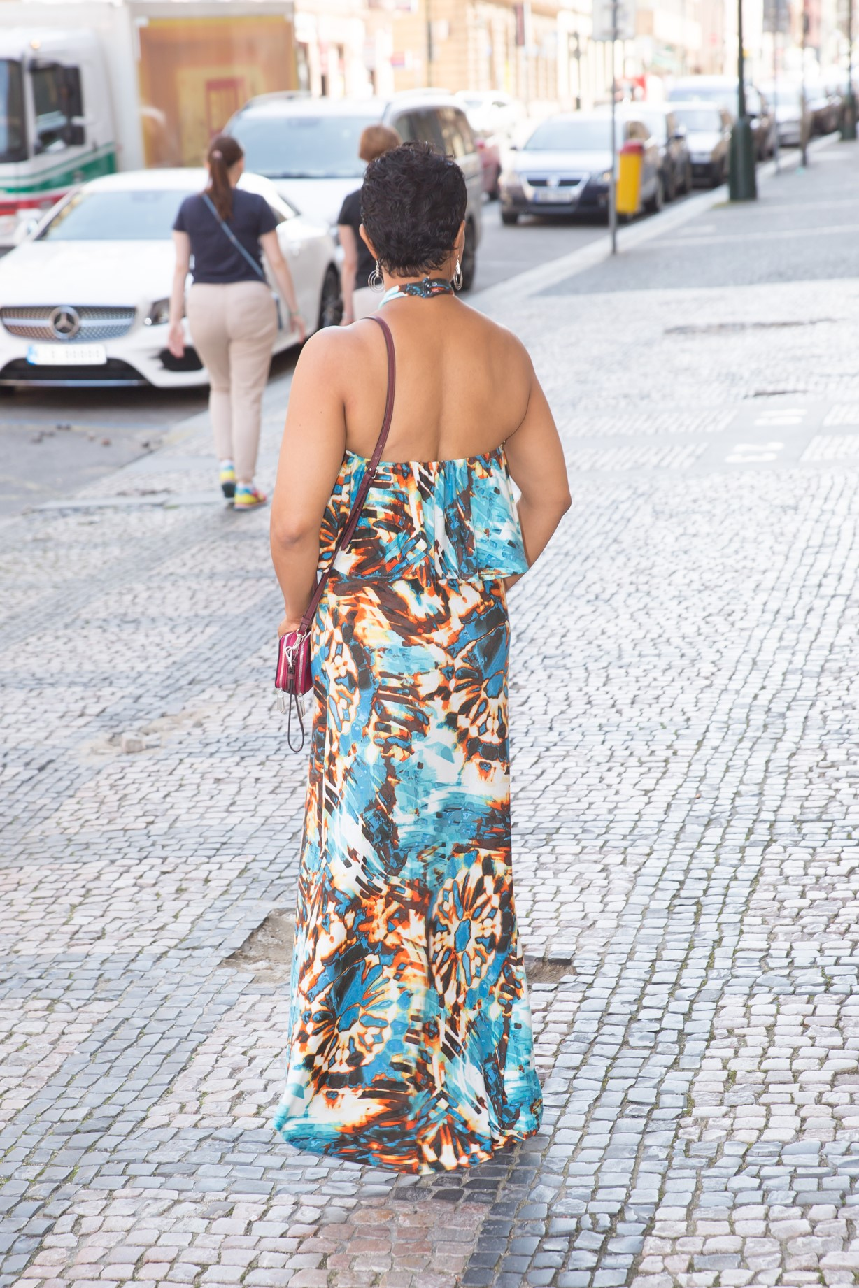 DIY Halter Maxi Dress - McCall's 7593