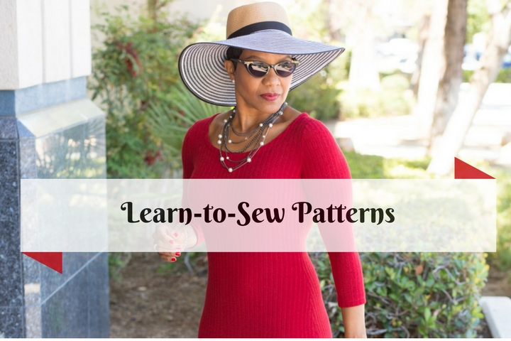 Learn to Sew Pattern Collections - Featuring McCall\'s 7531 – Anita ...