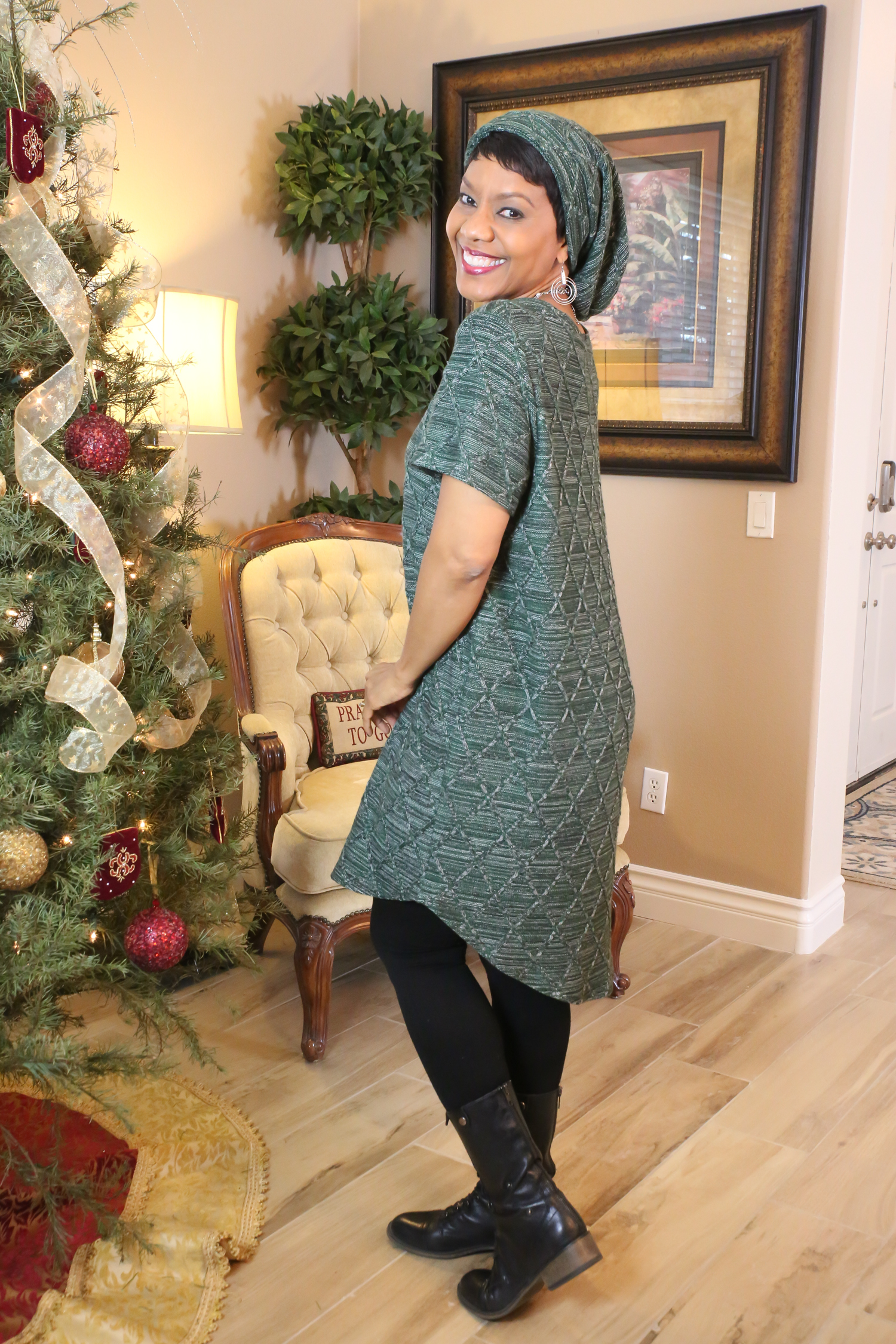 The Laura Dress - Rosy Pena Patterns